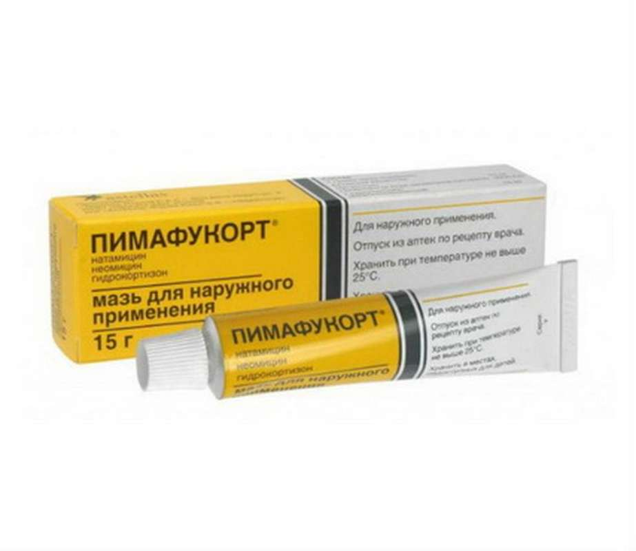 Pimafucort ointment 15gr buy broad-spectrum preparation against rash