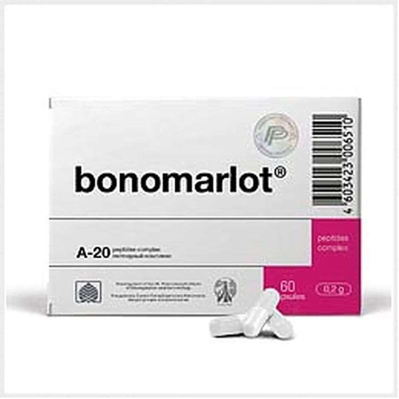 Bonomarlot 60 capsules buy complex peptide fractions online
