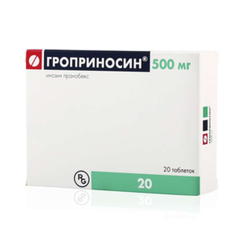 Groprinosin 500mg 20 pills buy immunostimulating online