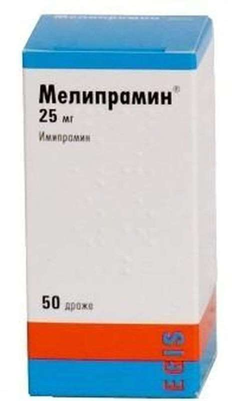 Melipramin 25mg 50 pills buy tricyclic antidepressants online
