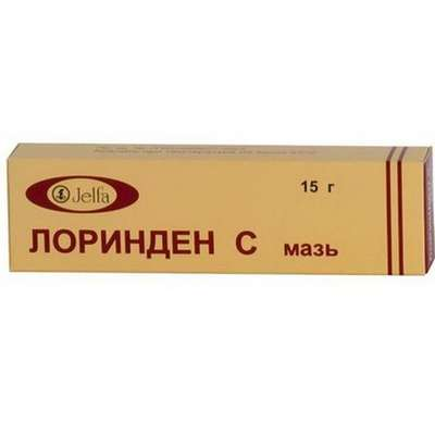 Lorinden C ointment 15g buy antibacterial, antifungal and anti-inflammatory effect