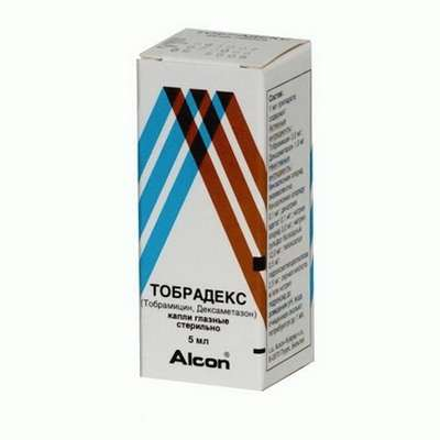 Tobradex eye drops 5ml buy antimicrobial, anti-inflammatory action online