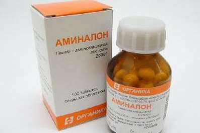 Aminalon 250mg 100 pills buy CNS stimulating metabolism online Acidum gammaaminobutyricum
