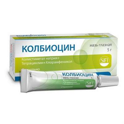 Colbiocin eye ointment 5gr buy combined antibacterial drug