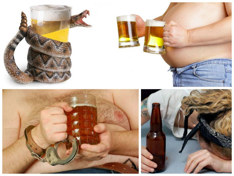 Why beer alcoholism is dangerous