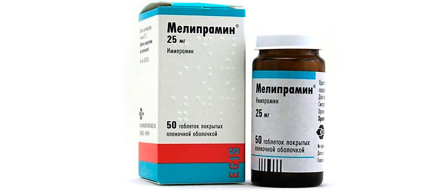 Melipramin - instructions, dosage, side effects, analogs