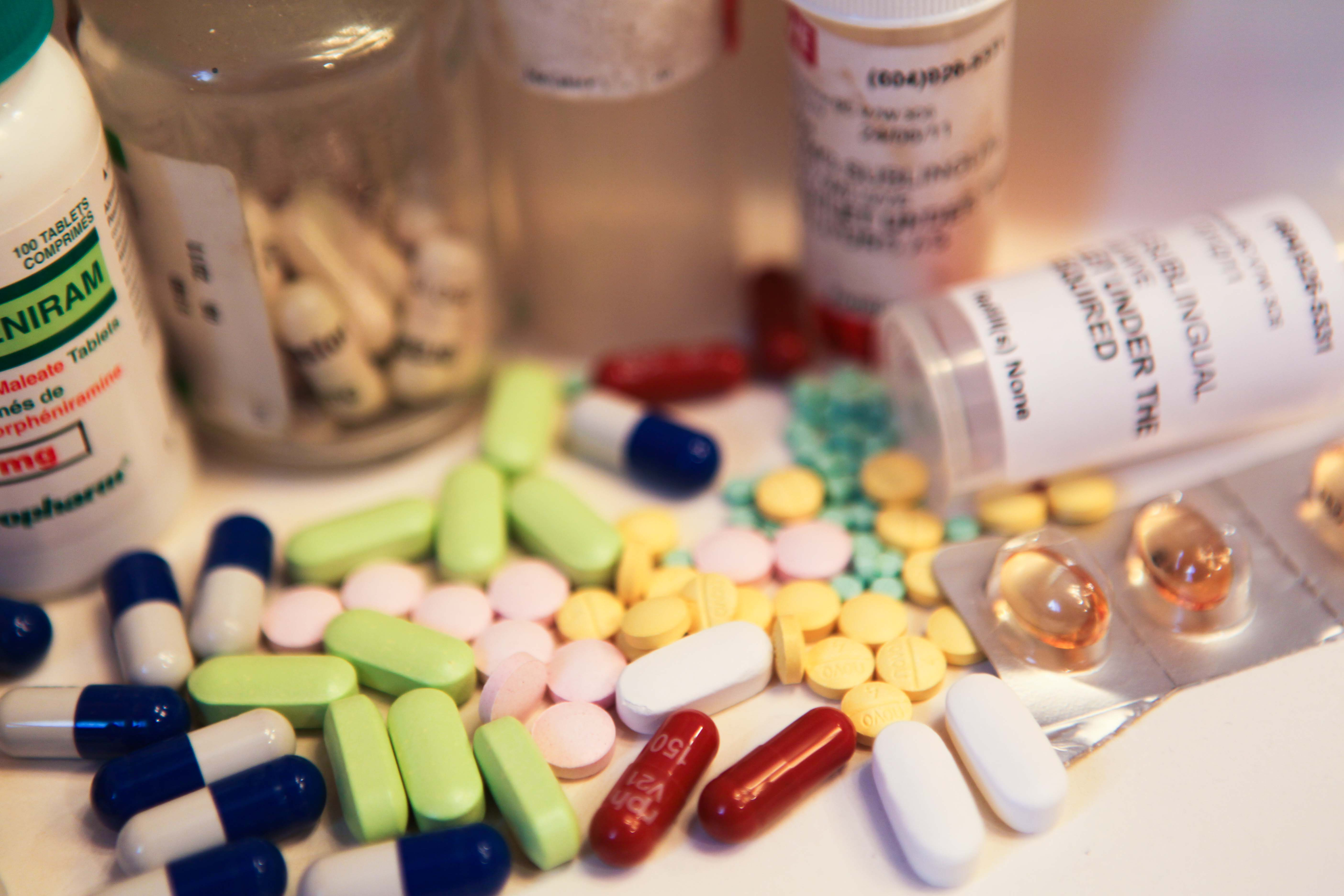 Medicinal drugs addiction