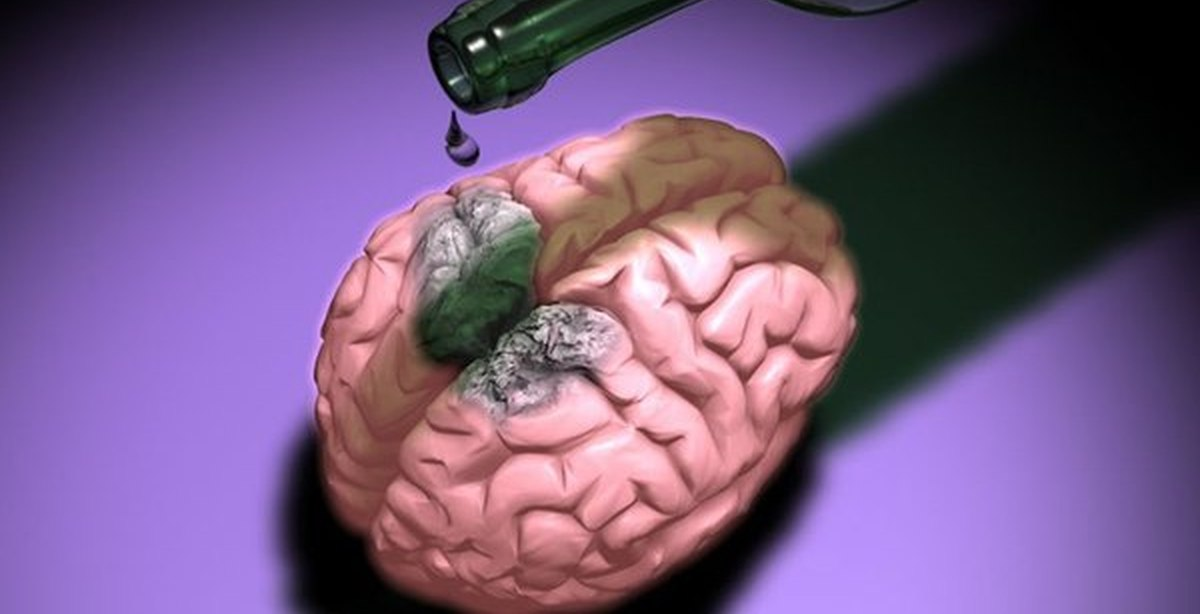 Brain, nervous system and alcohol. Phenylpiracetam alcohol
