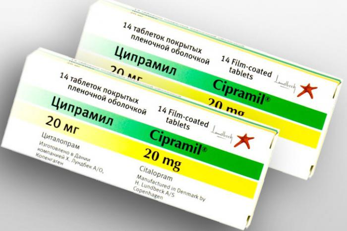 Cipramil - instructions, dosage, side effects, analogs